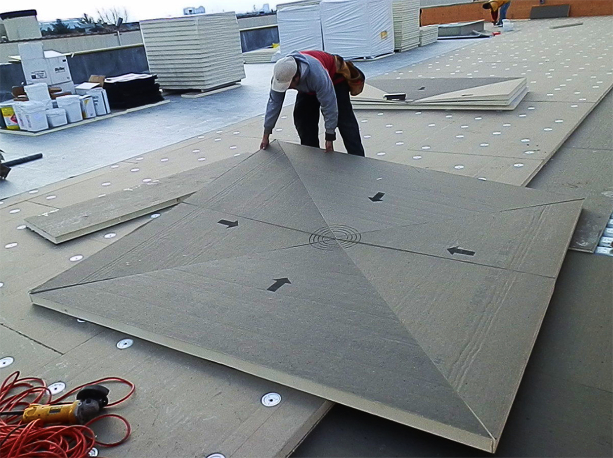 Tapered Insulation Systems
